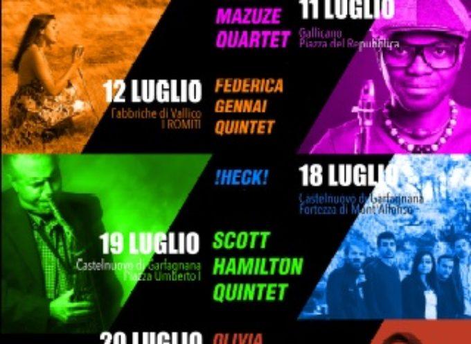 Giovedì 18 giugno a Castelnuovo Garfagnana gli !HECK!- Venerdì 19 luglio arriva la musica di Scott Hamilton