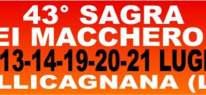 alla sua 43° edizione la Sagra dei Maccheroni di Sillicagnana è un appuntamento consolidato degli eventi dell'estate garfagnina.