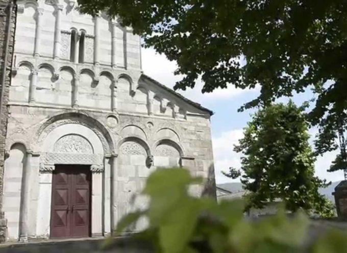 la chiesa di san cassiano di controne