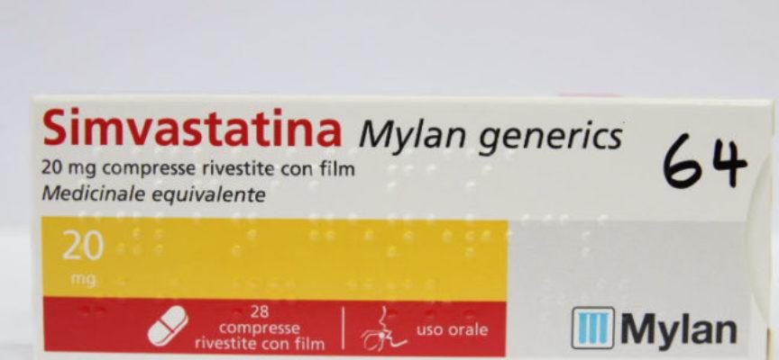 AIFA segnala ritiro medicinale SIMVASTATINA MYLAN GENERICS: risultati fuori specifica. Ecco i lotti e info