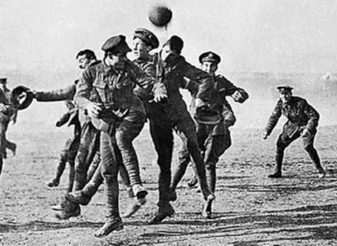 Italia- Germania, estate 1944: una partita di calcio fra nazisti e garfagnini in riva al Serchio