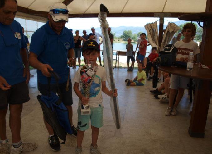 Grande successo della scuola di pesca organizzato dalla società Lenza Sportiva Sant'Alessio