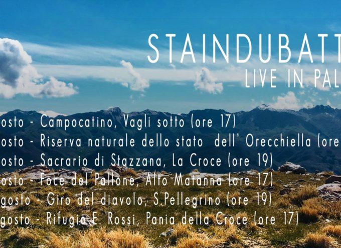 I live della band nelle più belle località montane della Garfagnana