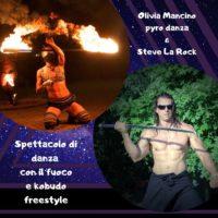 """20 Luglio a Fornovolasco: """"Emotional Show"""" spettacolo di danza con il fuoco e Kobudo freestyle"""