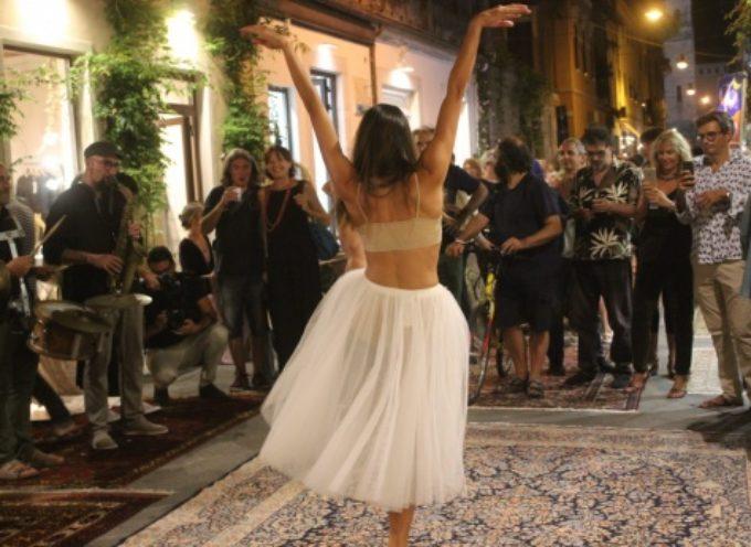 """la prima """"Notte Creativa"""" è un successo di presenze e qualità, tanti eventi e tanta eleganza in via Barsanti"""