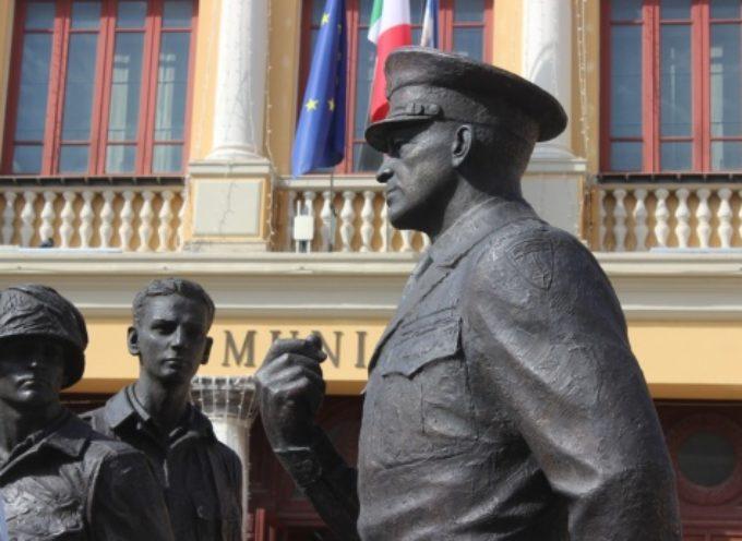 monumento Eisenhower saluta Pietrasanta