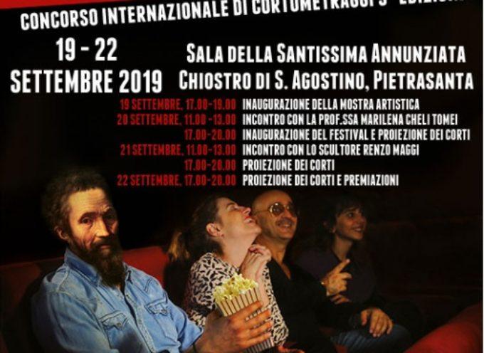 """mostra """"Arte e Cinema"""" apre Pietrasanta Film Festival, collettiva nel Chiostro"""