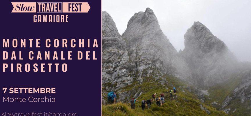 Escursione sul Monte Corchia dal Canale del Pirosetto