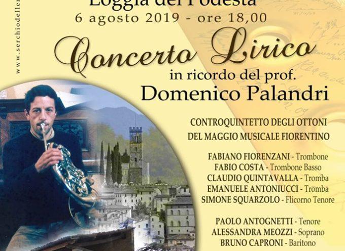 BARGA – Concerto lirico in ricordo di Domenico Palandri