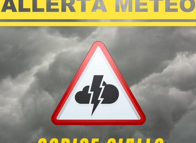 ALLERTA METEO CODICE GIALLO
