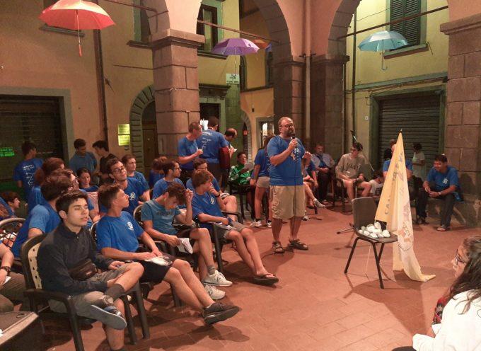 La comunità di Castelnuovo ha accolto con gioia l'arrivo del Vescovo Paolo Giulietti