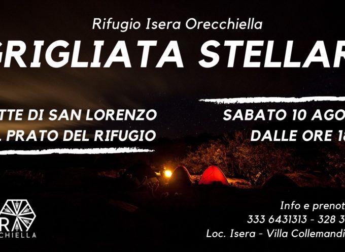 Grigliata Stellare – Notte di San Lorenzo al Rifugio Isera