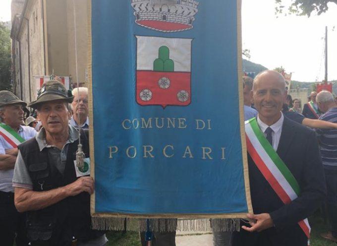 il Comune di Porcari alla commemorazione per la strage di Sant'Anna di Stazzema.