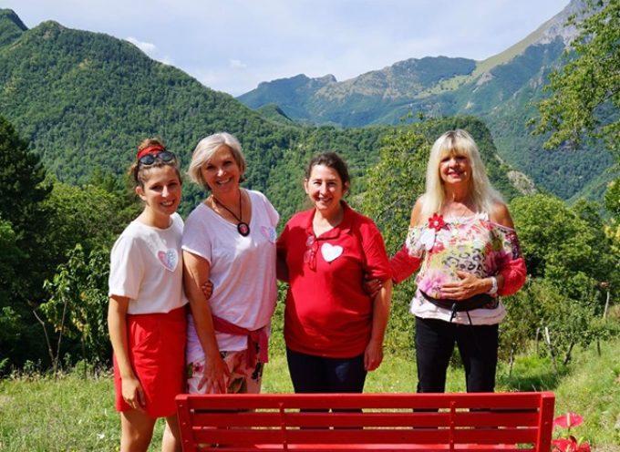 Inaugurata la 76esima panchina rossa alla chiesa di Sant'Ansano di Trassilico!