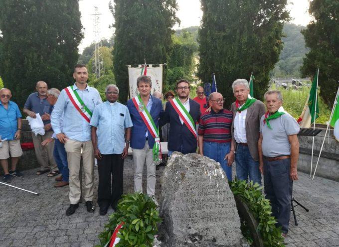 L'assessore alla cultura Francesco Cecchetti ieri ha partecipato alla commemorazione del 75° anniversario della strage di Laiano, promossa dal Comune di Vecchiano