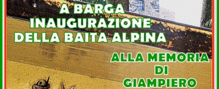 Inaugurazione della Baita Alpina presso Villa Gherardi a Barga