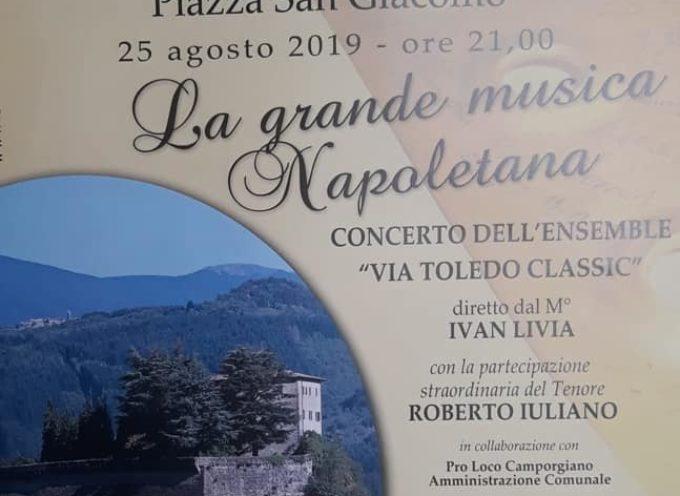 Camporgiano – la grande musica napoletana