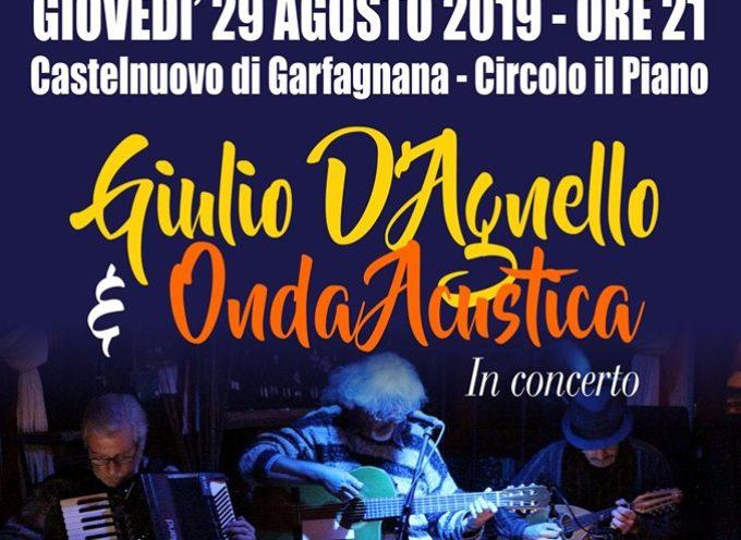 Castelnuovo di Garfagnana – Appuntamento con la musica d'autore.
