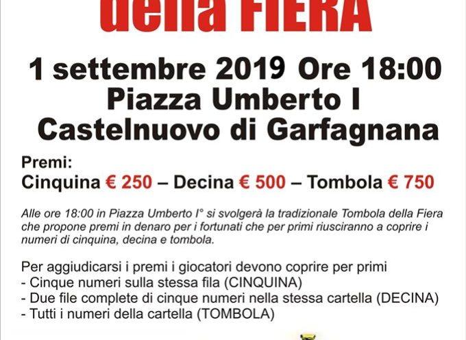 A CASTELNUOVO LA TOMBOLA DELLA FIERA