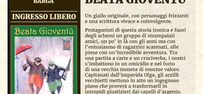 Incontri Letterari con Vincenzo Galati a Barga