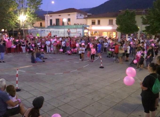 Grande successo per la marcia dei Braccialetti Rosa a Fornaci di Barga