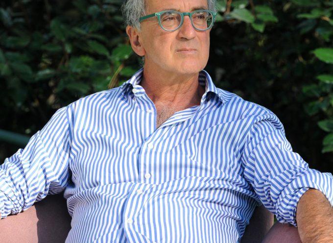 Al Caffè de La Versiliana, Ciro Vestita, biologo e nutrizionista.