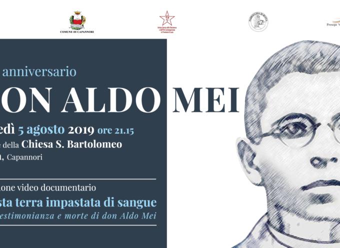 CAPANNORI CELEBRA IL 75° ANNIVERSARIO DI DON ALDO MEI.