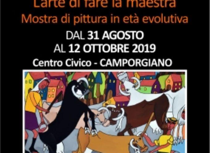 Camporgiano: mostra di pittura di Giovanna Fiorani