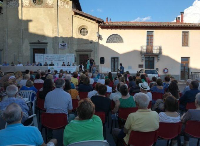 Corfino, una piazza di artisti e appassionati per la XXVIII edizione  della mostra di pittura estemporanea