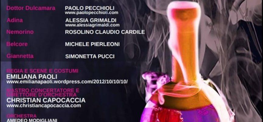 """""""L'elisir d'amore"""" Opera lirica – Per la prima volta nel cartellone estivo di Villa Bertelli"""