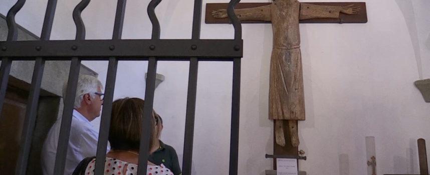 Bertocchini in visita al Volto Santo di Rocca di Soraggio