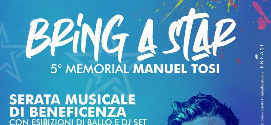 "Bring a Star"" – Una serata benefit per ricordare Manuel Tosi"