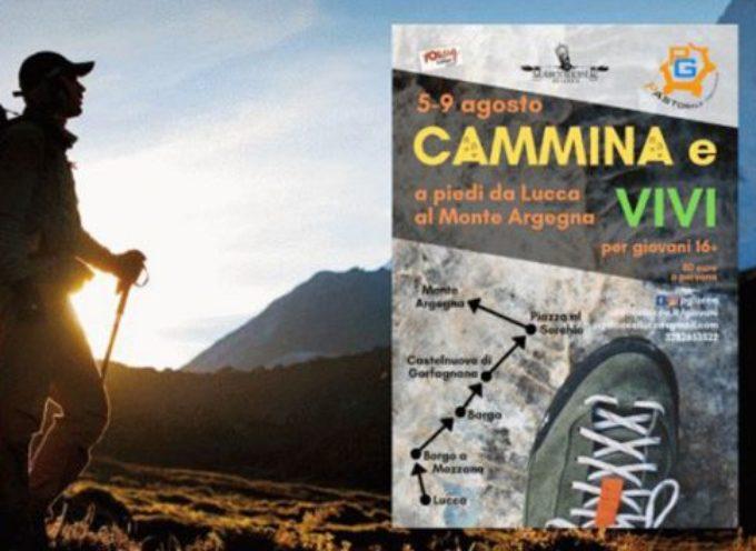 Cammina e Vivi: pellegrinaggio Lucca-Argegna (5-9 agosto 2019)