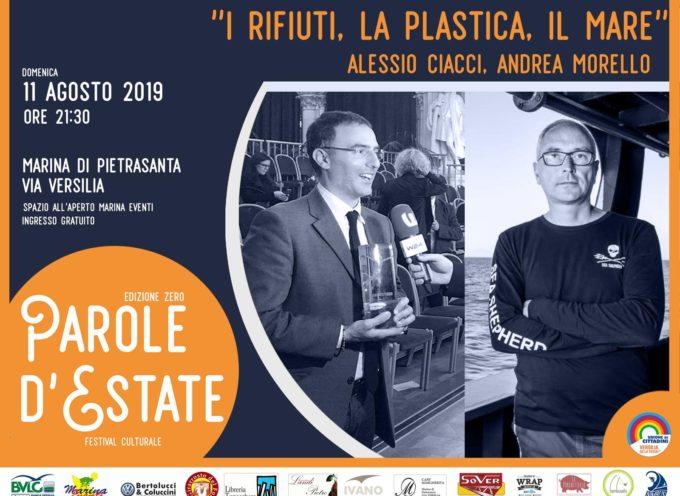 """Parole d'Estate"""" torna per il quinto dei 7 appuntamenti previsti in calendario con""""I rifiuti, la plastica, il mare"""""""