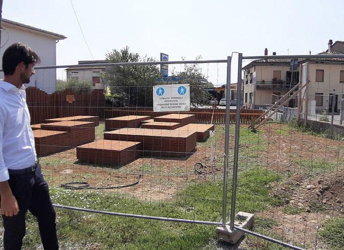 San Colombano, a ottobre pronti parco e parcheggio