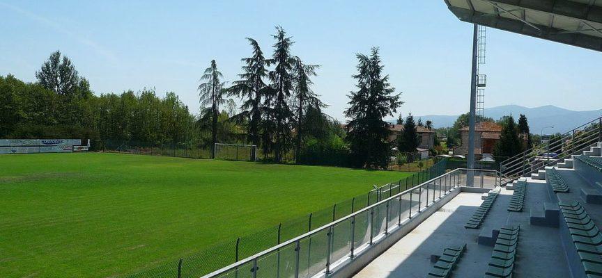 Si completa l'opera di ristrutturazione e adeguamento degli spogliatoi dello stadio di Marlia.