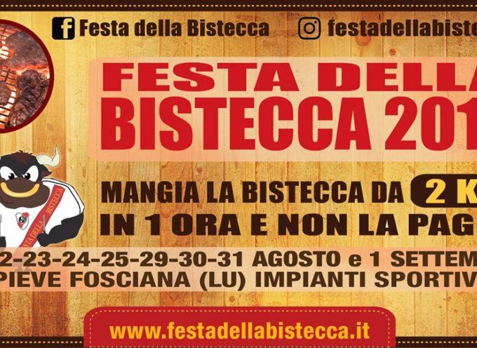 Festa della bistecca – Impianti sportivi – a Pieve Fosciana