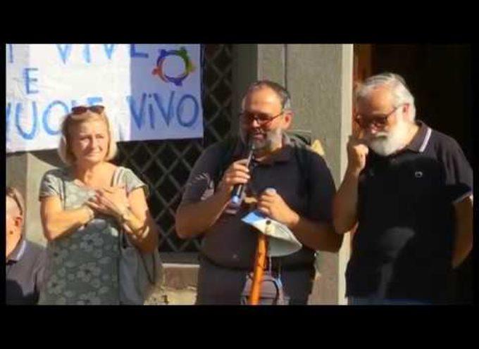 Arrivato all'Argegna il pellegrinaggio del vescovo Paolo con i giovani