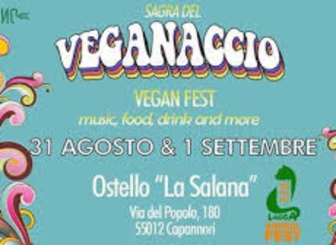 Nei giorni 31 agosto e 1 settembre, presso l'Ostello ' La Salana' di Capannori si terrà la prima edizione de ' il veganaccio'