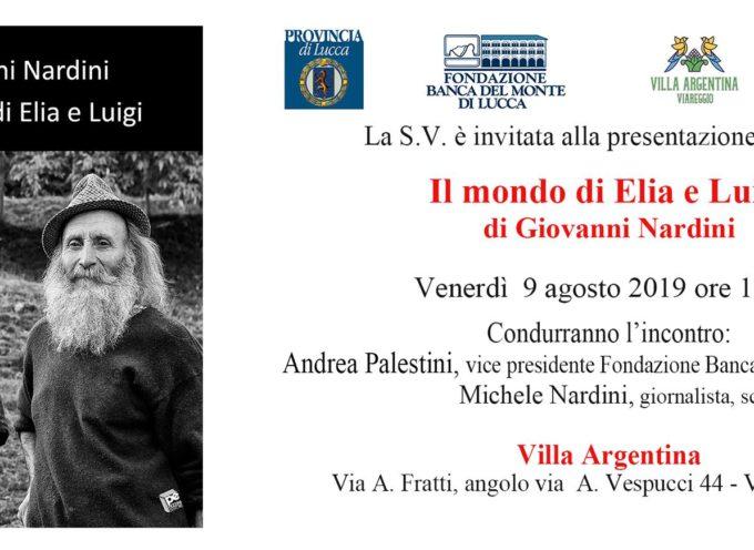 Verrà presentato presso Villa Argentina venerdì 9 agosto 2019 alle ore 18.00 il nuovo libro fotografico di Giovanni Nardini