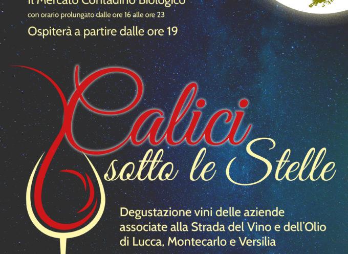 Calici sotto le stelle – in piazza San Francesco una serata 'gustosa' con la Cia Toscana Nord e Strada del Vino e dell'olio