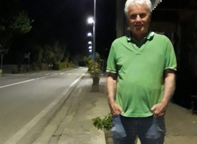 Terminato il restyling dell'illuminazione pubblica al Piaggione: ieri sera sono state accese sulla via del Brennero le nuovi luci a led