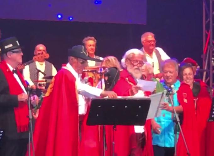 La Congrega dei Goliardi, sul palco della Versiliana, a fianco del Maestro Renzo Arbore!