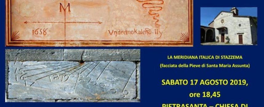 Istituto Storico Lucchese, Sezione Versilia Storica – Le Meridiane Italiche