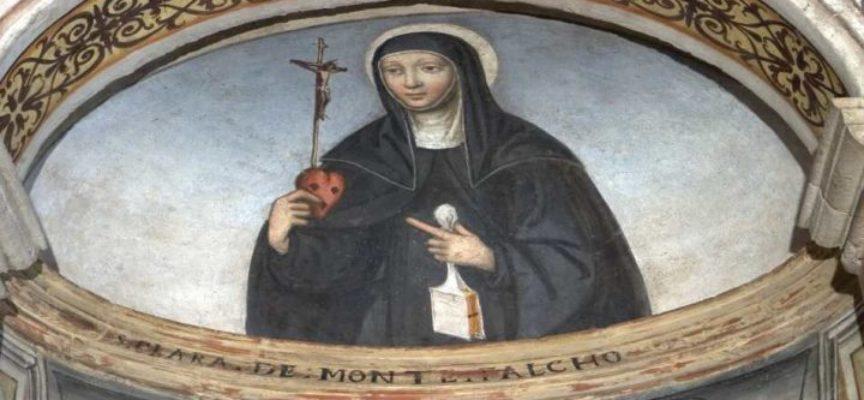 Il Santo del giorno, 17 agosto S. Chiara da Montefalco o Chiara della Croce – S. Nicola Politi, eremita in Sicilia