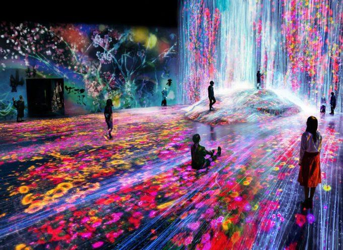teamLab Borderless è diventato il museo dedicato a un solo artista più visitato al mondo.