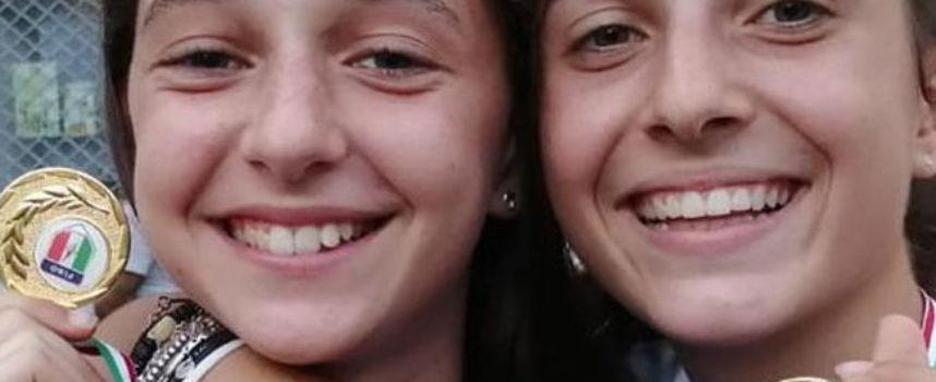 """Seravezza – Gaia Lupi ed Elis Angeli, le """"Ragazze Oro"""" alla miniolimpiade di Crotone"""