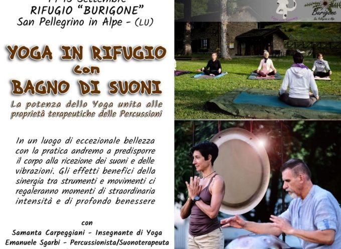AL RIFUGIO IL BURIGONE – Yoga&bagno Di Suoni