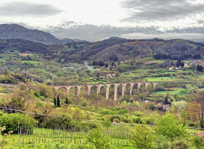 il ponte ferroviario della VIlletta.