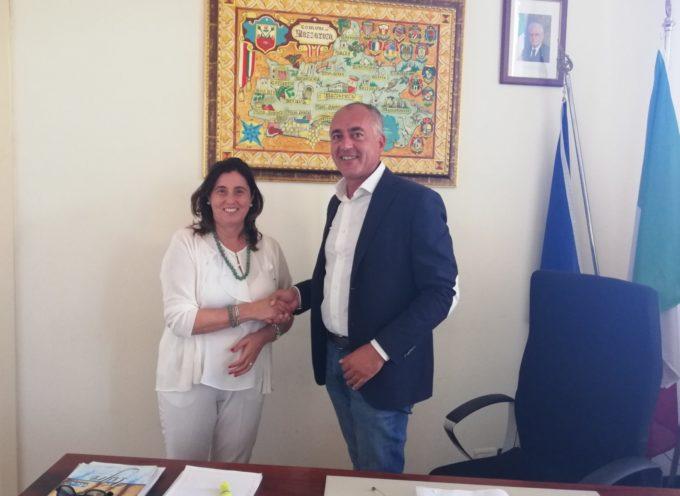 Il sindaco di Massarosa Alberto Coluccini ha dato stamani il benvenuto alla dottoressa Antonella Bugliani,